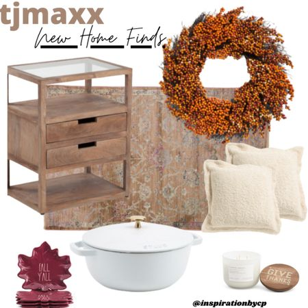 Beautiful autumn home finds. ✨fall decor, candle, fall wreath, staub, area rug, decorative pillows, side table, thanksgiving   #LTKSale #LTKSeasonal #LTKhome