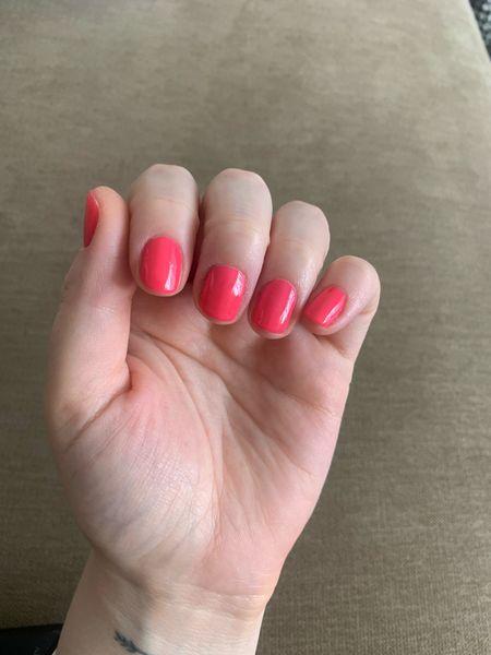 """Olive and June """"hot strawberry""""   #LTKunder50 #LTKbeauty"""