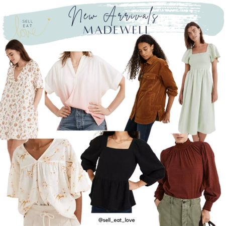 New Arrivals Madewell!  My picks for Fall!  #midsize #fallstyle #fall #workwear  #LTKworkwear #LTKcurves #LTKSale