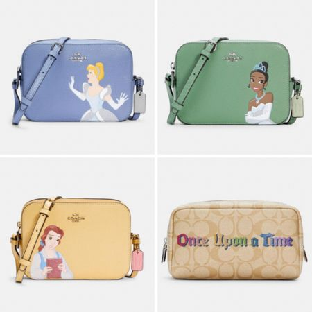 The new Disney Princess x Coach collection is now available to Insiders! You will get early access to this collection before it officially launches on the 31st! And don't forget to grab your free Coach mask while you're at it 😉💕 #LTKsalealert #LTKitbag #LTKstyletip  #disney #coach #coachoutlet #cinderella #tiana #belle #onceuponatime #liketkit @liketoknow.it http://liketk.it/3bwLZ