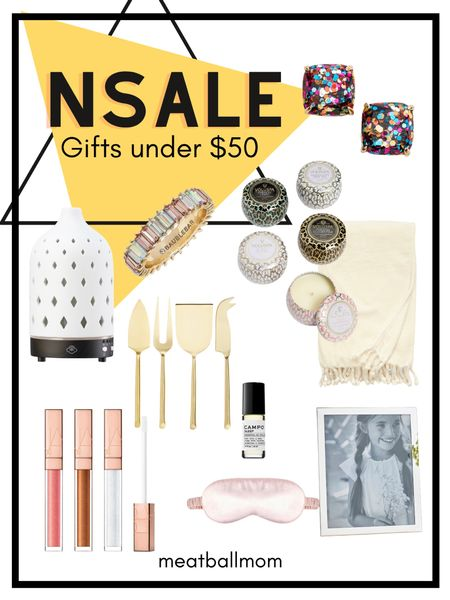 Nordstrom Anniversary sale : gifts under $50  The NSALE is a great time to stock up on some holiday or birthday gifts for your loved ones and friends.       Nordstrom, nordstrom anniversary sale, gifts, gift guide, gifts for the home, gifts for her, beauty gifts, candles, kitchen gifts #ltkstyletip ,   #LTKunder50 #LTKhome #LTKbeauty
