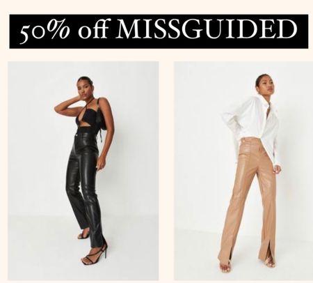 50% off MISSGUIDED sale!!   #LTKSale #LTKunder50 #LTKshoecrush