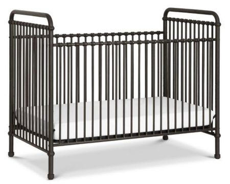We just opened the box for the crib we had ordered to realize that it was more brown than gold like we had anticipated 😭 we ordered this beauty, due to arrive on baby's due date 😅 this whole pregnancy has been a lesson in patience and just making it work! I love the detail on this one ans the black will go beautifully. http://liketk.it/3k0p9 #liketkit @liketoknow.it #LTKhome #LTKbaby #LTKkids #crib #blackcrib #cribs #baby #babygear #nursery #nurserystyle #stylishbaby