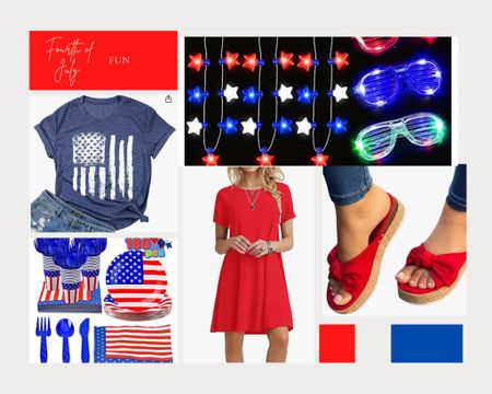 Are you ready for the Fourth of July?  Add some red, white, blue into your celebration with these finds from Amazon! @liketoknow.it   #LTKhome http://liketk.it/3i5OD #liketkit