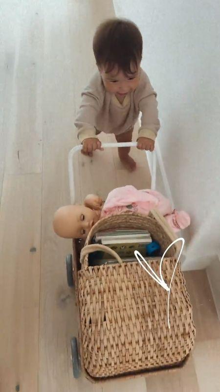 Wicker baby stroller! One year old birthday gift idea.   #LTKkids #LTKbump #LTKbaby