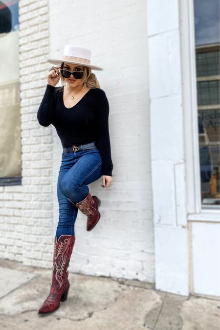 It's #nationalbootday and y'all know how much I love my boots 😍 👢  I've linked some of my favorites on my LIKEtoKNOW.it . . . . . . . . .  http://liketk.it/3cRU5 #liketkit #LTKunder100 #LTKshoecrush #LTKstyletip @liketoknow.it
