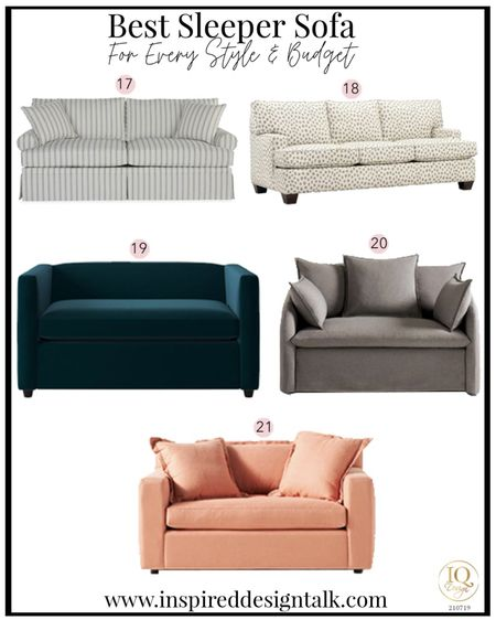 Best sleeper sofa ideas to update your Living room home decor.  Living room decor, sofa, couch, sofas, couches, bedroom decor, nursery decor, and more!  You can instantly shop my looks by following me on the LIKEtoKNOW.it shopping app   #LTKfamily #LTKhome #LTKstyletip