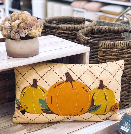 Target Fall Decor - New Arrivals! Fall Pillows | Pumpkin Pillows | Target Home Decor, fall home decor, home decor, neutral fall decor, #falldecor, autumn decor, fall style, target style #targetstyle #LTKFall  #LTKunder50 #LTKSeasonal #LTKhome