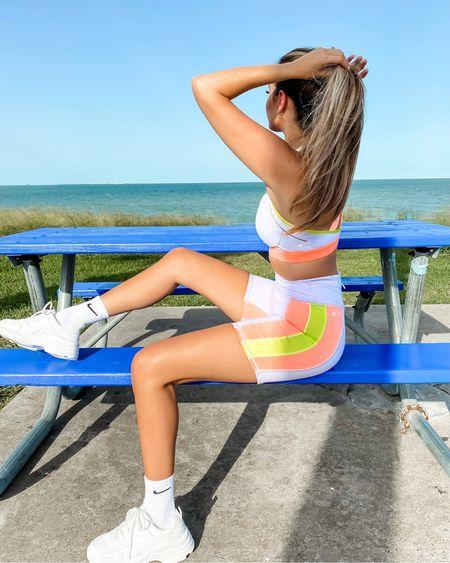 Biker shorts athletic set  #LTKstyletip #LTKunder50 #LTKfit