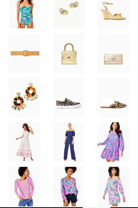 Lilly Pulitzer sale. Summer sale. Sale on dresses. Swimwear sale. Accessories on sale. Sale alert. Lilly sale.   #LTKunder50 #LTKSale #LTKsalealert