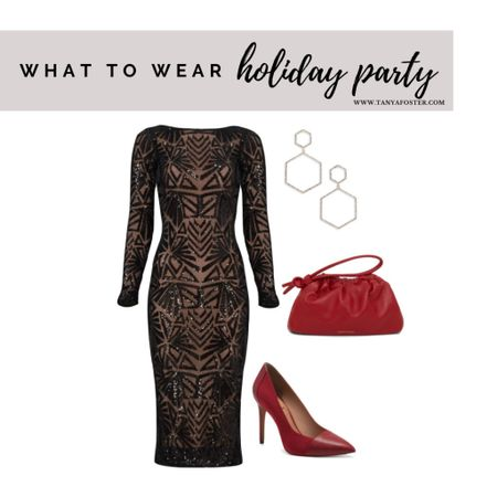 The perfect look for your upcoming holiday parties! Change up the shoes for a wedding guest look    #LTKstyletip #LTKHoliday #LTKwedding
