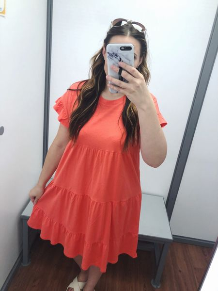 #walmartwednesday ! @walmart has so many great summer finds right now! This fun coral dress is flowy, comfy, and affordable. (Under $15!) Linking it plus a few other #walmartfinds on the @liketoknow.it app!   { Download the LIKEtoKNOW.it shopping app to shop this pic via screenshot } http://liketk.it/3ihbu #liketkit #LTKstyletip #LTKunder50 #LTKunder100