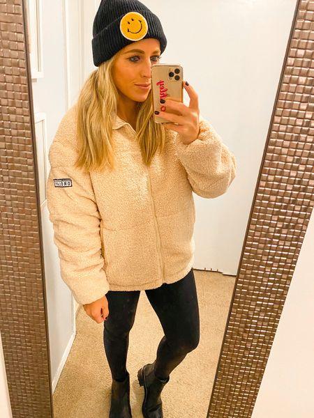 Beanie hat. Orolay jacket. Amazon fashion. Fall fashion   #LTKunder100 #LTKSeasonal #LTKunder50