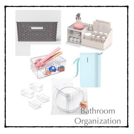 Favorite bathroom Organization Items http://liketk.it/374gH #liketkit @liketoknow.it #LTKhome #LTKunder100 #LTKunder50