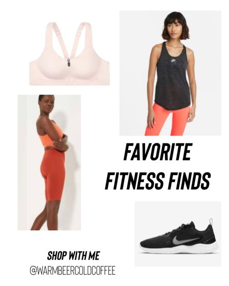 These are my favorite summer fitness finds. The sports bra is great for those with bigger chests and those biker shorts are perfect for them thicc thighs honey.  #LTKSeasonal #LTKcurves #LTKfit