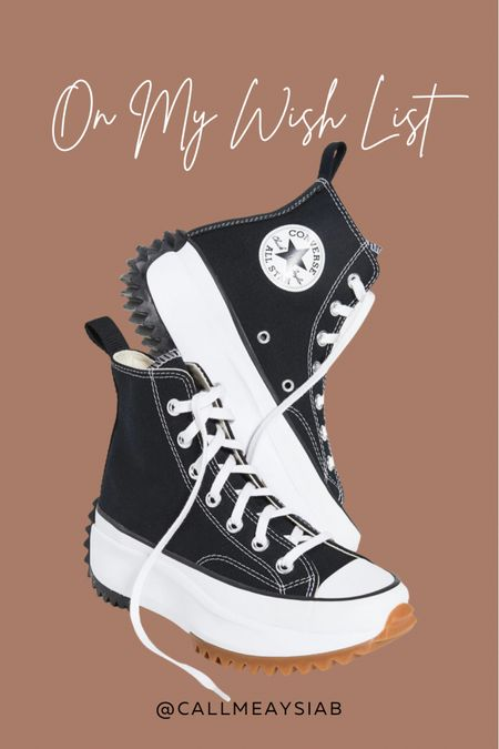 These will definitely have to be my next buy 😍 I've been treating myself to one or two pair of shoes a month and these Converse have been speaking to me. I think these are perfect year round but I'll be wearing these all Spring. http://liketk.it/3aeyf @liketoknow.it #liketkit #LTKshoecrush #LTKSeasonal #LTKstyletip