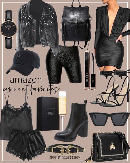 All black aesthetic from Amazon!   #LTKGiftGuide #LTKstyletip #LTKunder100