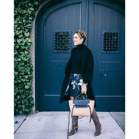 The boots were made for walkin (thanks to the low heel) @katespadeny  @liketoknow.it www.liketk.it/1XLUL #liketkit on galmeetsglam.com #ontheblog #ksny