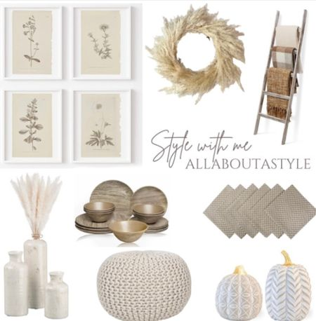 Neutral #Fall decor #homedecor #interiordesign #home  Follow my shop on the @shop.LTK app to shop this post and get my exclusive app-only content!  #liketkit #LTKHoliday #LTKSeasonal #LTKGiftGuide @shop.ltk http://liketk.it/3oh6F