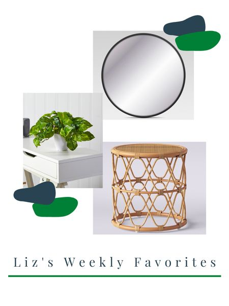 My weekly favorites coming to you on a Wednesday! Is anyone else obsessed with the rattan trend that is going on right now? http://liketk.it/3bR4m #liketkit @liketoknow.it