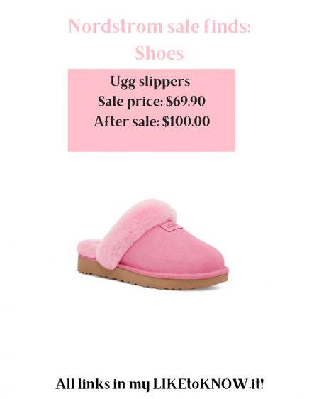 http://liketk.it/3jF2S #liketkit @liketoknow.it ugg slippers sale Nordstrom anniversary sale pink ugg slippers