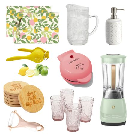 Walmart's trendy and fun summer kitchen essentials!  @walmart #ad #walmarthome    #LTKSeasonal   #LTKhome #LTKunder50