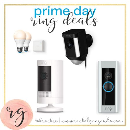 Prime day is the perfect day to snag a ring doorbell and/or accessories for it. 👏🏼 We LOVE our ring doorbell and stickup cam. We use it for a baby monitor. Download the LIKEtoKNOW.it shopping app to shop this pic via screenshot #StayHomeWithLTK #LTKsalealert #liketkit @liketoknow.it http://liketk.it/2YGKX