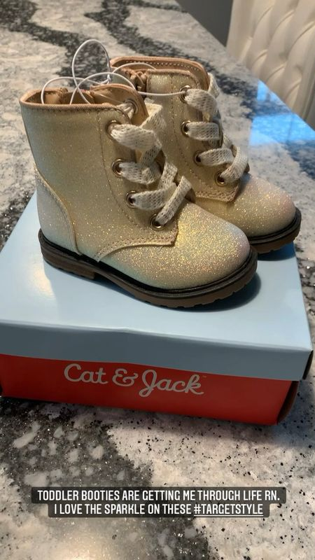 Toddler booties. Toddler combat boots. Fall style. Fall fashion. Toddler girl fashion. Target finds. Target style.   #LTKkids #LTKSeasonal #LTKfamily