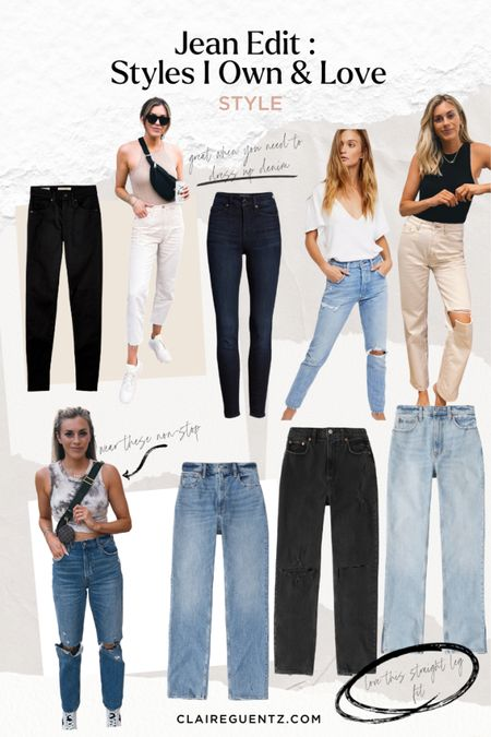 All fit TTS, except white jeans. Size up one in Banana Republic brand (left) and size down one in Urban Outfitters (right). @liketoknow.it #liketkit http://liketk.it/3k4hX #LTKunder100 #LTKsalealert