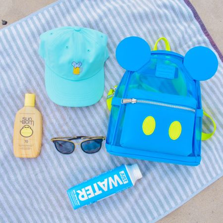 The summer essentials 💙🏝💚 beachside is where I plan to be more this summer to take advantage of the missed rays last year. Hat from Etsy, backpack from Loungefly, sunscreen from SunBum, water from JUST #LTKitbag #LTKstyletip #LTKtravel #liketkit @liketoknow.it http://liketk.it/3iW07