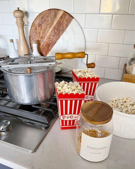 E A T S \ making popcorn with Ford!🍿  #eats #popcorn #kitchen  #LTKunder50 #LTKhome