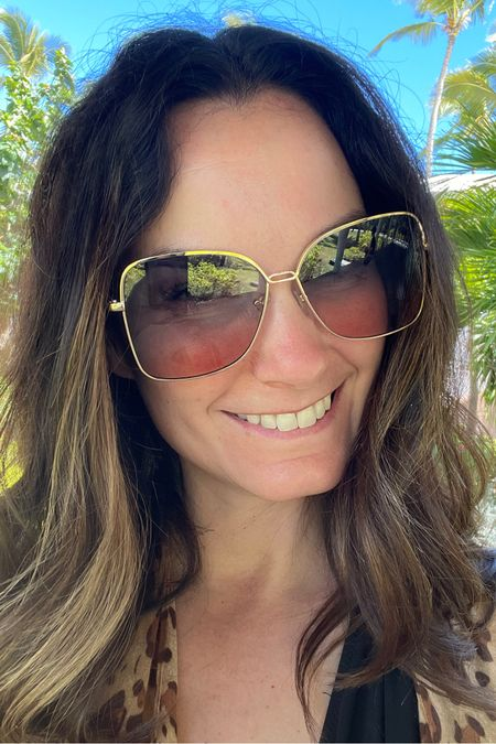 Many of you asked about these sunglasses...super cheap but super fun!!   http://liketk.it/3ca4z #liketkit @liketoknow.it Screenshot this pic to get shoppable product details with the LIKEtoKNOW.it shopping app