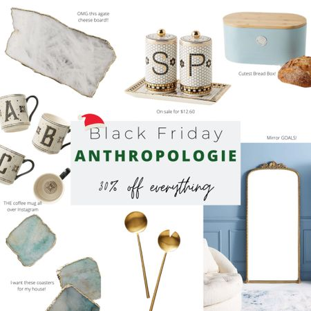 All of Anthropologie is 30% off. I love their home items and they make great gifts. http://liketk.it/32gdZ #liketkit @liketoknow.it #LTKgiftspo