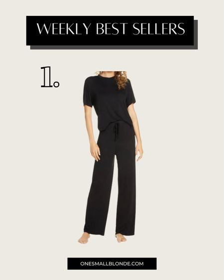 Under $50 pajamas for fall 🖤🖤🖤  #LTKunder50 #LTKSeasonal #LTKstyletip
