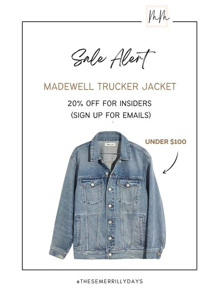 This trucker denim jacket has great reviews and it's under $100 so I just picked it up for myself!!! I would still go with your normal size unless you are petite   #LTKSale #LTKunder100 #LTKsalealert