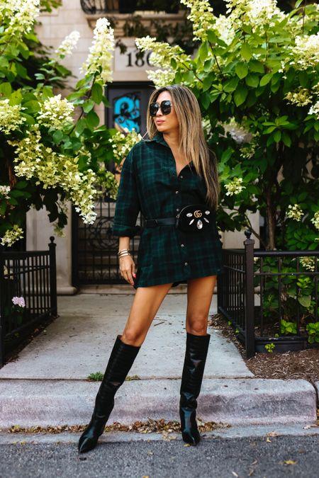 Fall style, shackets, revolve, fall outfit, knee high boots   #LTKstyletip #LTKunder100 #LTKSeasonal