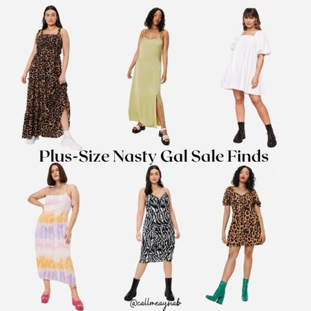 Nasty Gal Plus Size Finds! Here are some Nasty Gal dresses I will be buying this weekend! These are perfect for any day this summer   #LTKcurves #LTKDay #LTKunder50