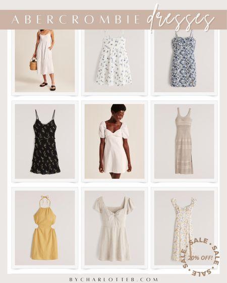 Abercrombie dresses on sale this weekend in app only! Use code LTKAF2021 at check out   #LTKunder50 #LTKDay #LTKunder100