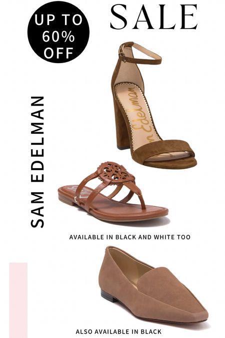 Sam Edelman shoes up to 60% off! Flip flops and wedding sandals along with a good work shoe!   #LTKshoecrush #LTKworkwear #LTKsalealert