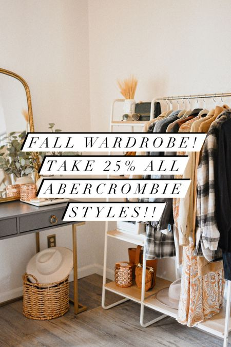 Linked all my favorite Abercrombie new arrivals for fall! Enjoy 25% off!!   #LTKSale #LTKsalealert #LTKunder50