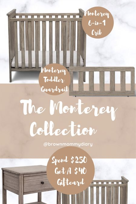 Nursery furniture. The Simmons Monterey Collection includes a 6-in-1 crib, nightstand, bookcase, dresser with changing top, and chest. http://liketk.it/35kyO #liketkit @liketoknow.it #LTKbaby #LTKbump #LTKkids @liketoknow.it.family @liketoknow.it.home @liketoknow.it.europe @liketoknow.it.brasil Download the LIKEtoKNOW.it shopping app to shop this pic via screenshot