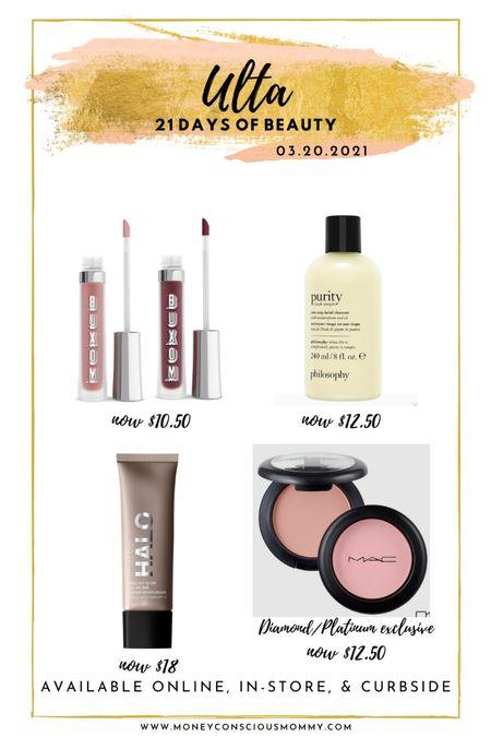 Today's 50% Beauty Steals!  #Buxom #Philosophy #MacCosmetics #Smashbox   #LTKsalealert #LTKbeauty #LTKSpringSale