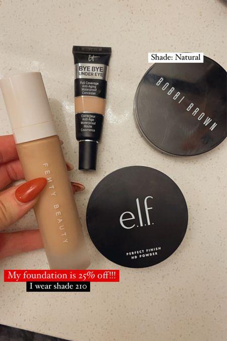 My makeup must haves! Fenty beauty is 25% off site wide!!   #LTKbeauty