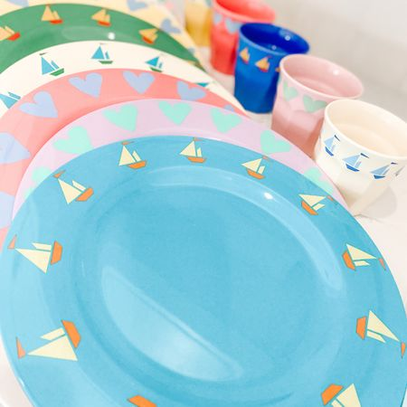 {ad} Drew Barrymore's Flower Kids line from @walmart does it again with these vibrant plates and cups!  They are my go to for serving my kids' meals outdoors.   .  Shop your screenshot of this pic with the LIKEtoKNOW.it shopping app  . .  #liketkit http://liketk.it/2VFqL @liketoknow.it @liketoknow.it.home @liketoknow.it.family #StayHomeWithLTK #LTKfamily #LTKhome