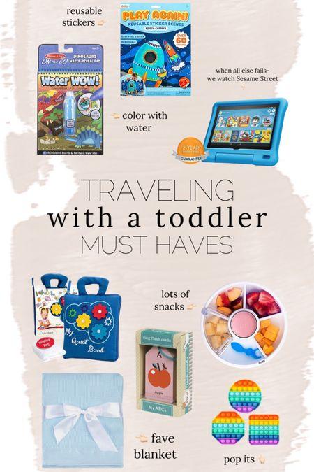 Traveling with toddler // baby // kids // entertainment // toys // http://liketk.it/3hWLu @liketoknow.it #liketkit #LTKbaby #LTKtravel #LTKkids
