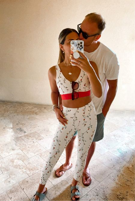 Vacation workout casual outfit for him and her   #LTKtravel #LTKfit #LTKmens
