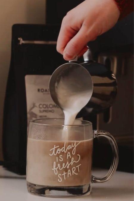 Everything you need to enjoy an at-home latte ☕️ http://liketk.it/36WOn @liketoknow.it #liketkit #StayHomeWithLTK #LTKhome