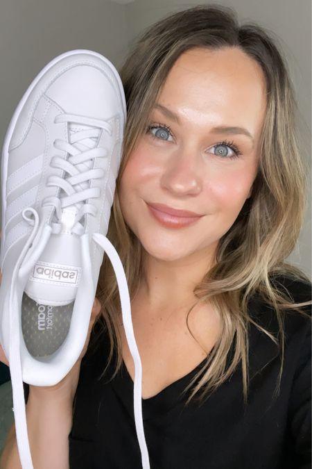These cute adidas sneakers are 45% off today http://liketk.it/3i6jV #liketkit @liketoknow.it #LTKunder50 #LTKsalealert #LTKshoecrush