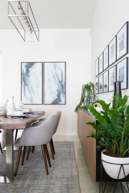No Monday blues here! Dreaming about our clients gorgeous dining room. Makes us want to plan a dinner party ASAP! Shop our post on  @liketoknow.it #liketkit http://liketk.it/2LnIA