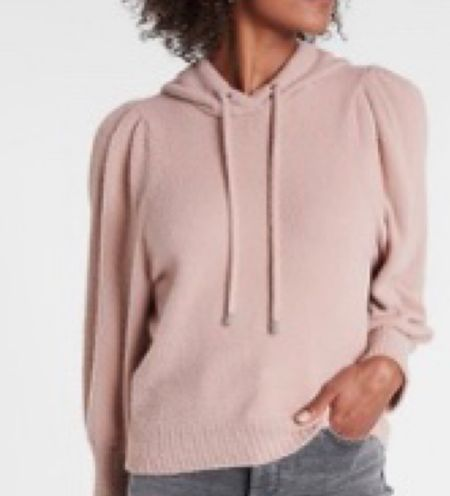Cozy soft hooded sweater! Comes is 3 colors true to size . Great gift and on sale!   #LTKSeasonal #LTKsalealert #LTKGiftGuide
